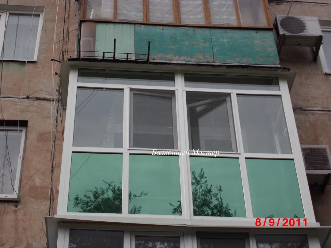Утепленный балкон реальное фото. - балкон, рассчитать балкон.